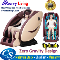 Latest 8D Zero Gravity Full Body Shiatsu Massage Chair Wt Heating Therapy Air Massage System SL-TracK Stretch Vibrating
