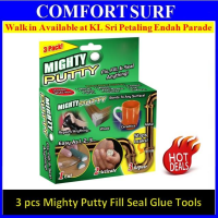 3 pack piece Magic Mighty Putty Fix, Fill n Seal Almost Anything