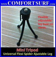 Flexible adjustable Mini Tripod for Camera / Mini Projector / Mobile Telephoto Lens