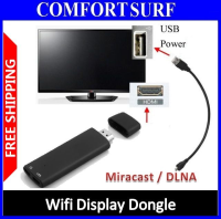 Miracast DLNA Wifi Diplay Dongle Airplay - Smartphone to TV Screen