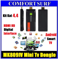 MK809IV RK3188 Quad Core Mini tv Dongle HDMI Pc 1080p Smart TV BOX Android 4.4.2