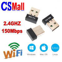 150Mbps 2.4GHz High Power Mini Wireless N USB Wifi Adapter Ralink N011