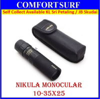 Nikula Mini Pocket size Monocular 10-30 X 25 High Power Pocket-Size
