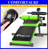 OK-201 Multifunction Foldable Gym Fitness Sit Up Bench Chair With LCD Display Counter