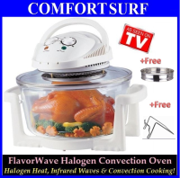 Multipurpose Flavorwave Oven Turbo-Halogen Convection Oven wif 12Litres (Ring Added=16Litres)