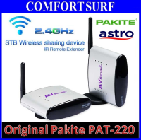 Original Pakite PAT-220 (2.4GHz) Wireless AV Transmitter & Receiver With IR