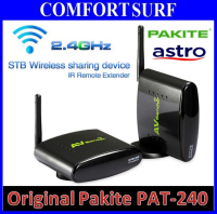 Original Pakite PAT-240 (2.4GHz) Wireless AV Transmitter & Receiver With IR