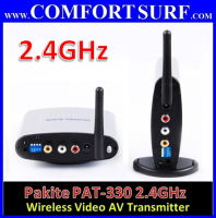 Original Pakite PAT-330 (2.4GHz) Wireless AV Transmitter & Receiver