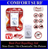 Electronic Ultrasonic Wave Plus Digital Pest Repelling Aid -Built in Night LED Light