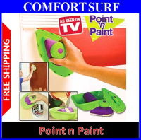 As Seen On TV DIY POINT n PAINT Painting System Kit FAST Easy Clean