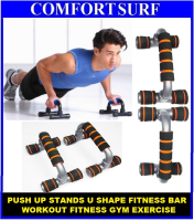 Push Up Stands U Shape Fitness Bar Workout Fitness Gym Exercise