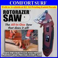 Rotorazer Saw All In One Saw with 3 Changeble Blade Free Carry Box
