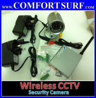 Wireless CCTV Security Camera - IR Night Vision Surveillance + Voice (Mic)