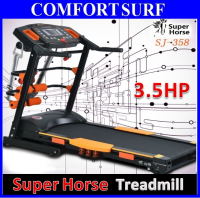 Genuine SuperHorse Multifunction Treadmill SH-358MF 3.5HP with Massage Device Dumbbell Sit up Twister Plate
