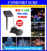 Solar LED String 22m 200 LEDs 12m 100 LEDs Festival Party Garden Fairy Lights SL012