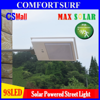 MaxSolar SL034 98pcs LED Solar Powered Street Lamp Light Road Outdoor Yard Flood Garden Spot Lamp lights