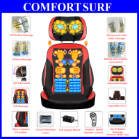 Multifunction SiYu-SY800B Cervical Spine massage pillow neck waist back home body massage cushion