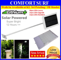 CREE LED 64X Solar Light Outdoor 30 LED /15 LED / 12 LED Wall Signage Street Lamp Auto On