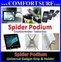 Universal Spider Podium Holder all gadget / Tablet PC / phone / Camera / incar holder