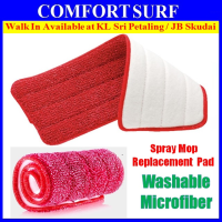 Washable Microfiber Replacement Pad for Spray Mop