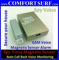 GSM Spy Door Magnetic Sensor GSM Alarm Audio Sound Pick-Up Bug, Auto Call Back