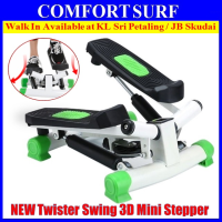 Twister swing mini stepper with LCD counter slimming burning fat excercise