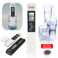 TDS 3 In 1 LCD Digital TDS EC PPM Water Quality Meter Tester Pen