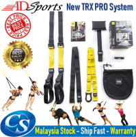ADSprots TRX P4 PRO Gym Suspension Training Kit System Resistance Bands Weight Training