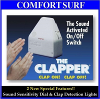 The Clapper Europe Standard Sound Activated Light On/Off Switch