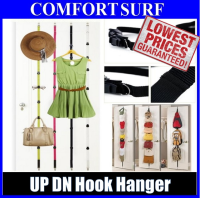 UPDN Hook Adjustable Hanger Door Home Hanging Bag Clothes Coat Rack Orgainzer