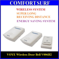 VOYE Super Long Receiving Distance Wireless Door Bell V006B2