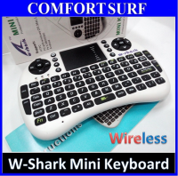 W-shark 2.4G Wireless Mini Keyboard Mouse with Touchpad Air Mouse