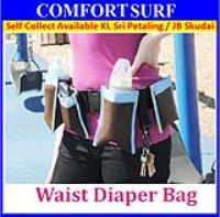 Multi-function Waist Belt Diaper Bag Bottle Pocket