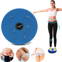 Magnet Balance Rotating Trimmer Fitness Core Waist Twisting Disc Weight Loss Fitness Equipments Twister Plate