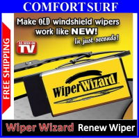 As Seen ON TV Wiper Wizard Windshield Wiper Blade Restore Old Wiper