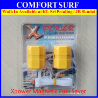 2 Pieces X-Power Magnetic Fuel Saver for All type Petrol Diesel Gas Car Motor Vehicle
