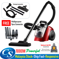 Powerful 1000W DM-001 Cyclone Vacuum Dust Acarid Dust-mite Cleaner + FREE 9pcs Connector