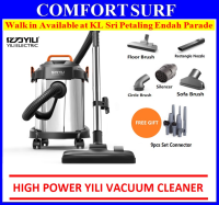 Multifunction Heavy Duty Powerful 1000W 3-in-1 Dry / Wet / Blower Vacuum Cleaner 12L Bagless Vacuum