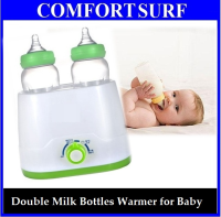 Multifunction Double Baby Milk Bottle & Foods Warmer