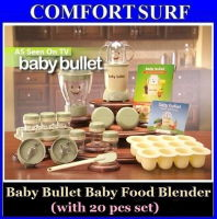 Baby Bullet with 20 Piece Set Baby Food Blender & Maker As Seen On TV