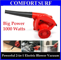 1000Watts Multifunction Portable Electrical Powerful Air Blower Vacuum Cleaner