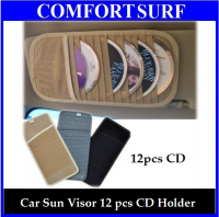 Car Sun Visor 12pcs CD Disc Player Holder
