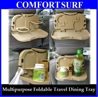 Car Vehicles Multipurpose Foldable Travel Dining Tray
