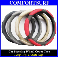 Easy Grip Anti Slip PU Leather Car Steering Wheel Cover Protective Case