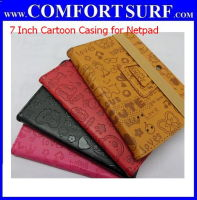 Universal 7 inch Quality Leather Casing with Back Camera for 7 inch Tablet PC