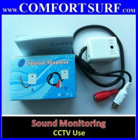 Quality Sound / Voice Monitoring Pickup Device KZ-502C for CCTV