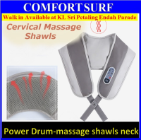 Cervical massage Shawls electric massage neck and shoulder with heat timing function