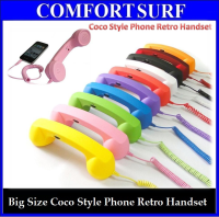 Big Size Fashionable Creative Coco Style Phone Retro Handset for Smartphone iPhone, iPad, Samsung, HTC etc