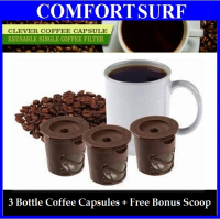 Clever Coffee Capsule Reuseable Single Coffee Filter + Free Bonus Scoop