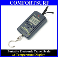 Portable Electronic Luggage Baggage Travel Scale with Temperature Display